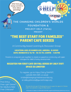 Changing Children's World Workshop 11 Week Series @ Lutheran Social Services of Illinois